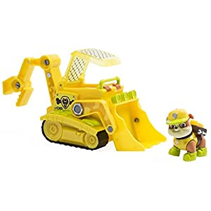 Juguete de La Patrulla Canina 6033375 vehículo de selva de Rubble con cachorro