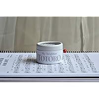 """Boîte à musique à manivelle avec décors en blanc et mélodie du film """"Mon Voisin Totoro"""". Parfaite pour offrir aux fans du film."""