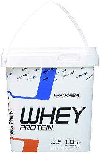 Bodylab24 Whey Protein Eiweißpulver, Geschmack: Latte Macchiato, hochwertiges Proteinpulver, Low Carb Eiweiß-Shake für Muskelaufbau und Fitness, 1000g