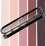 Beste Lidschatten Palette Make-Up Atelier Paris T19 Rosewood tones, Profi-Augenpalette mit 5 Farben, hoch pigmentierte Lidschatten