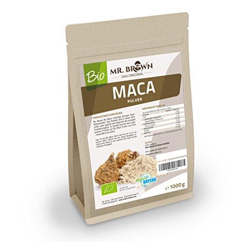 Mister Brown BIO Maca Pulver aus Peru 1 kg |...