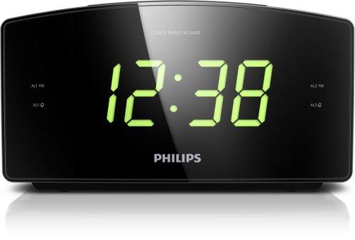 philips-aj3400-05-clock-radio-with-big-display-tuner-fm-double-alarm-security-battery-black