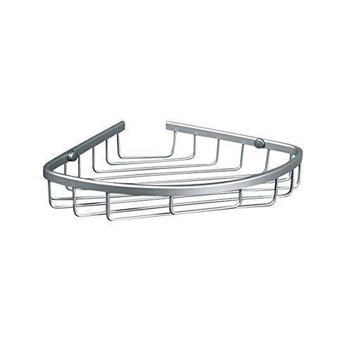 Gaoxu Klassische raum Aluminium Single Layer Warenkorb Badezimmer Korb wc dreieckige hängenden Korb Badewanne Racks