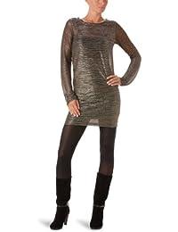 American Retro Stripe - Robe - Moulante - Rayé - Femme