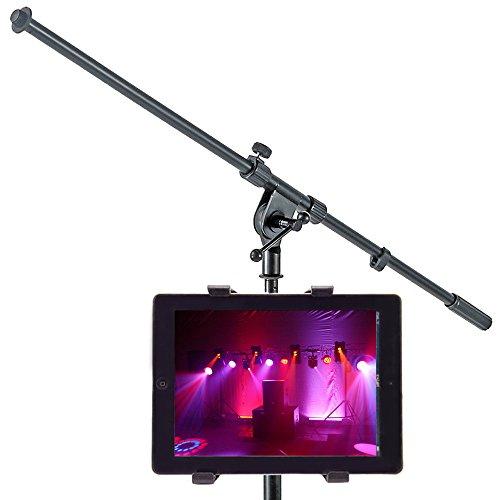 trellonics® Mikrofon Ständer Tablet Halterung–360Grad drehbar Flexible verstellbar Freisprecheinrichtung Bolt Klemmung Ständer...