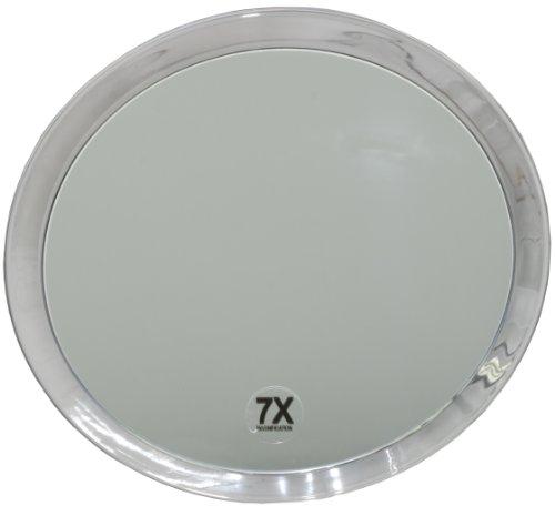 Fantasia - Miroir grossissant ( x 7) - 3 ventouses - Plastique - ø 23 cm