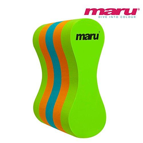Maru - Pullbuoy - Limettengrün/Orange/Türkis