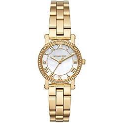 Michael Kors Reloj Analógico para Mujer de Cuarzo con Correa en Acero Inoxidable MK3682