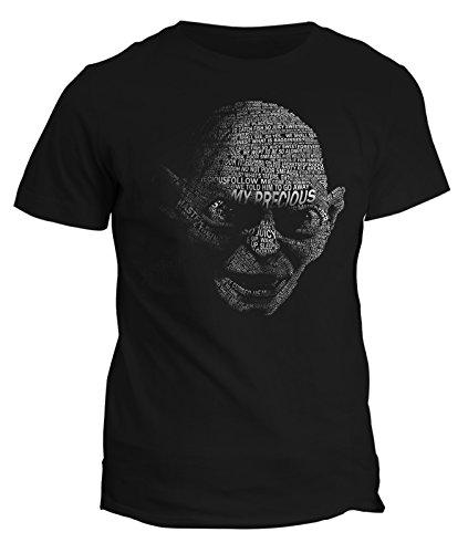 Tshirt Il signore degli anelli Gollum- lord of the ring - il mio tesoro- tshirt uomo donna bambino - in cotone by Fashwork