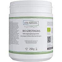 Gerstengras Pulver Bio | 100% rein aus Deutschland | Apothekenqualität | Hoher Wirkstoffgehalt | 250 g