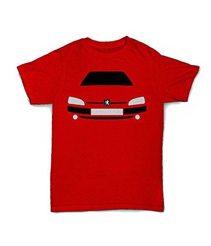 Retro Motor Company T-Shirt Peugeot 106 GTI Gr. S, grün -