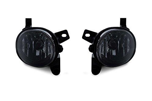 2 x Nebelscheinwerfer NSW Schwarz Smoke H11 Birnen Set Links + Rechts Eintragungsfrei
