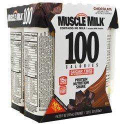 CytoSport Muscle Milk 100 Calories Chocolate 24-8.25 FL OZ by Cytosport