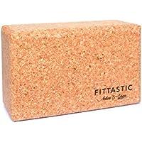 Fittastic Yoga-Block Kork – Yogaklotz – optimaler Grip und Größe – 100% Naturkork – nachhaltig und umweltfreundlich – Korkblock für Anfänger und Profis preisvergleich bei fajdalomcsillapitas.eu