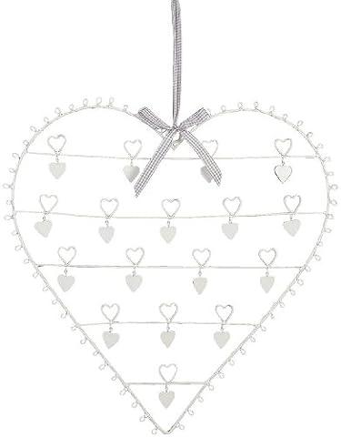6Y0859L Fotohalter Kartenhalter Herz groß ca. 50 cm