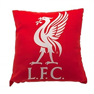 Liverpool F.C. Cushion- square cushion- approx 40cm x 40cm- with a swing tag- Official Football Merchandise