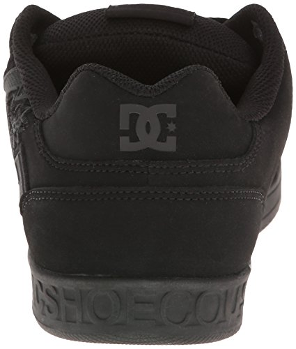 Dc Sceptor M Xkkw, Chaussons Sneaker Homme Noir (Black)
