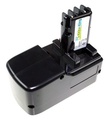 Akku kompatibel zu Metabo BST 18 PLUS - ersetzt 631739, ULA9.6-18 Ni-MH 3000mAh 18 Volt
