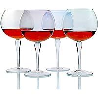Vetro di colore/ vino di alta/ wine glass