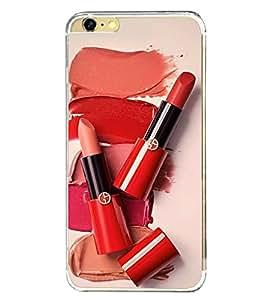 Lipstick 2D Hard Polycarbonate Designer Back Case Cover for Apple iPhone 6S