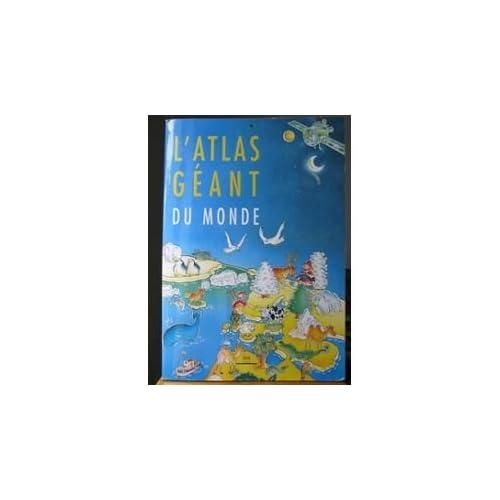 Atlas géant du monde