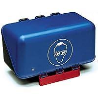Holthaus Medical Box für Schutzbrille Brillenbox Brillenetui Erste-Hilfe-Kasten, 23x12x12cm, blau preisvergleich bei billige-tabletten.eu