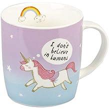 Attitude Clothing Dont Believe In Humans Unicorn Mug