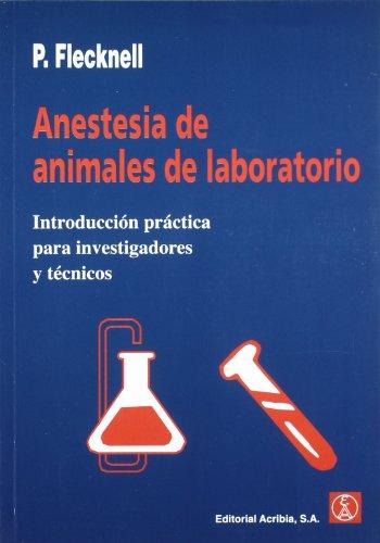 Anestesia de animales de laboratorio