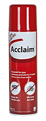 Acclaim Household Flea Spray, 500ml Aerosol