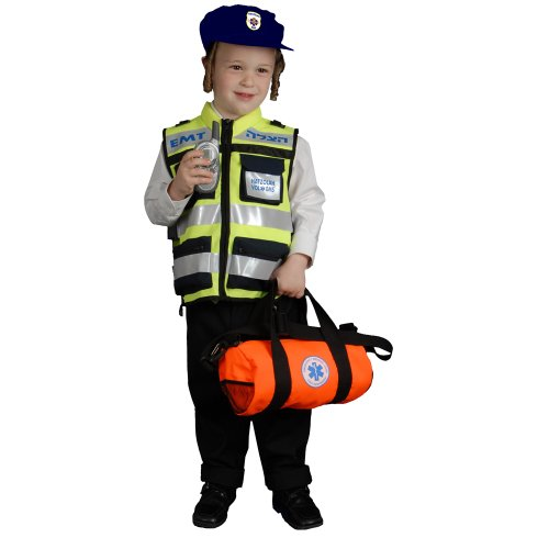 dress up America Kid Hatzolah Weste Kostüm Set (S)