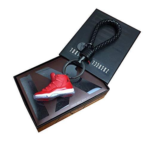 Fashion Mini Sneaker 3D Schlüsselanhänger Figur AJ1-20【1:6】 mit Box für Weihnachten Geschenk 1005
