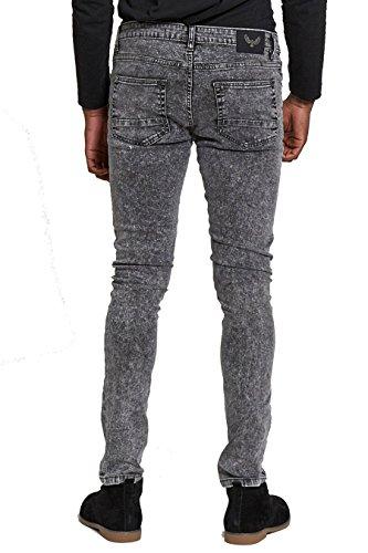 AARHON - Jeans - Jean - Homme Fuji/Charcoal-L