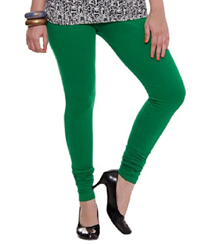Megha Cotton Leggings (LL5_Green)