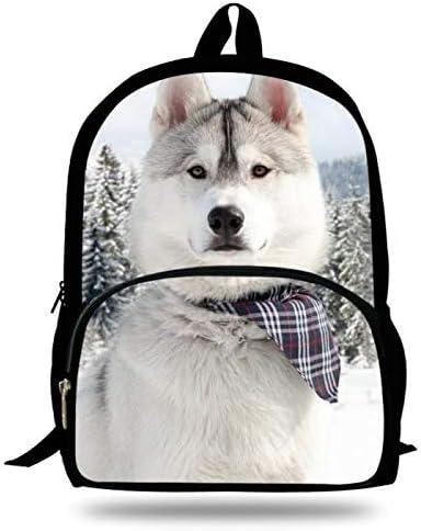 3a1014afe2 Sac à dos Exquis et CharFemmet Cool Dog Pattern Pattern Pattern  Backpack Sac à dos Animal à la mode Sac à dos  étudiant ...