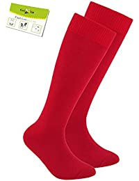 Ewers 1, 2 O 3 Envase Niñas Calcetines Hasta La Rodilla Medias A Calcetas De Verano Marca Un Color Para Niños (EW-64223-S17-MA2) incl. EveryKid-Fashionguide
