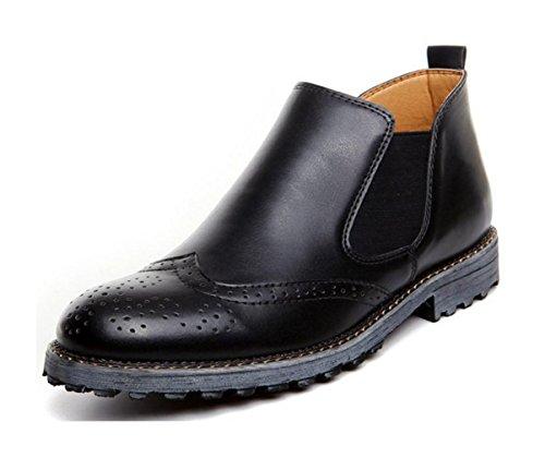 Homens Preto Esculpida Respirável Sapatos Casuais Novos Pé Da Preguiçoso Ajuda Conjunto Maré Alta Wzgdie Tendência Moda q5AZR