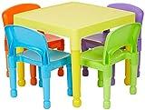 La casa de la Libertad de los niños de Juguetes y Juego de 4 sillas, plástico