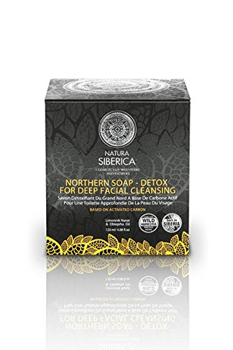 Natura siberica - Northern detoxifying soap with charcoal for a deep purifying...