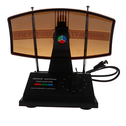 Sharplace Digitale TV Antenne, HDTV Indoor Fernseher Antenne mit Koaxialkabel - Typ 2