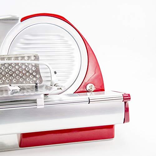 Berkel Red Line 250 - Affettatrice elettrica, Colore: Rosso