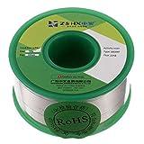 ZSHX Filo di saldatura senza piombo di alta qualità Sn99% Ag0.3% Cu0.7% Filo per saldatura a nucleo di colofonia per saldatura elettrica (0.6mm 100g)