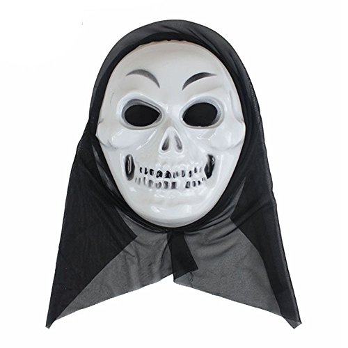 OverDose Damen Halloween lustige Vielfalt Phantasie Ball Maske Clubbing Party Cosplay Tanz Rave für Festival Horror wesentliche Geschenk (Halloween Ebay Katze Kostüm)