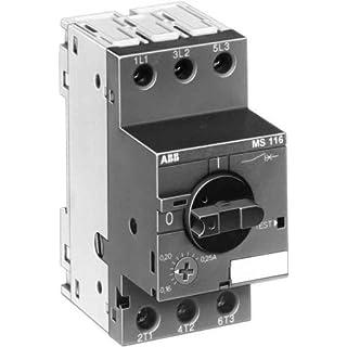 ABB Stotz S&J Motorschutzschalter MS 116-10,0 6,30-10,0A Leistungsschalter für Motorschutz 4013614320330