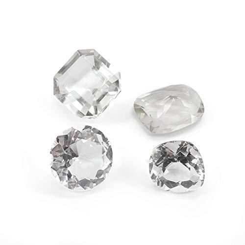 Mineral Import Facettierter Quarz, (1 Stück), klein