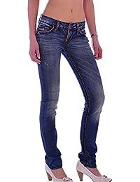 Cipo & Baxx Damen Jeans CBW-359 (30/34)