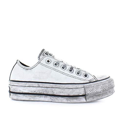 d1319a676d Converse Women's Shoes All Star Platform White Smoke in Sneaker Fall Winter  2019