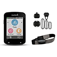 Garmin Edge 820 GPS GPS incl. Premium RF chest belt + speed/cadence sensors black 2017 handheld colour gps