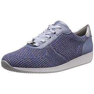 ARA Damen LISSABON 1224027 Sneaker, Blau (Candy, Sky/Silber 23), 40 EU