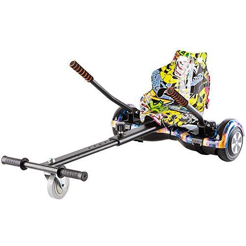 LMEI-HBSITZ Neuer Verstellbarer Hoverboard Sitz, Tarnung FüR Elektroroller, FüR Alle Selbstausgleichenden Hoverboard-Roller (6,5-10 Zoll) / Kinder Und Erwachsene(Enthält kein Hoverboard)