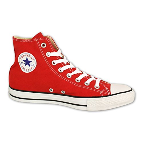 Converse Chuck Taylor Hi, Sneaker unisex adulto, Rosso (red), 53